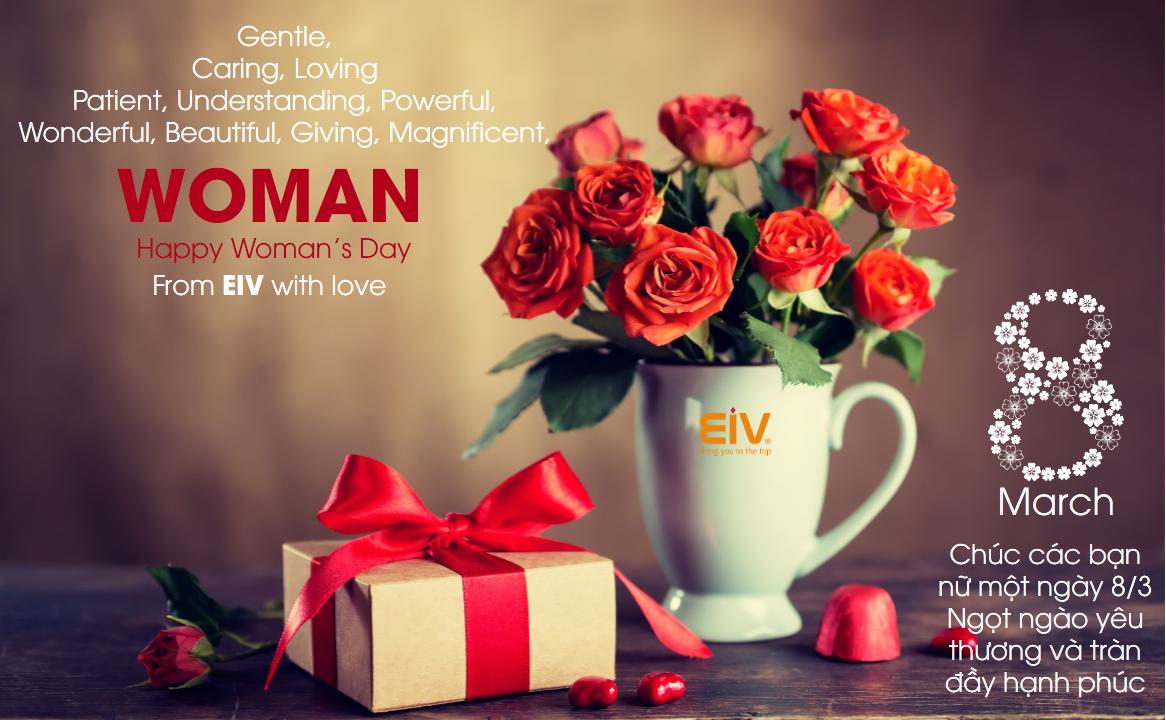 Mừng ngày quốc tế phụ nữ 8-3