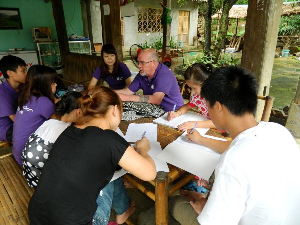 EIV tham gia dự án cộng đồng Mai Châu
