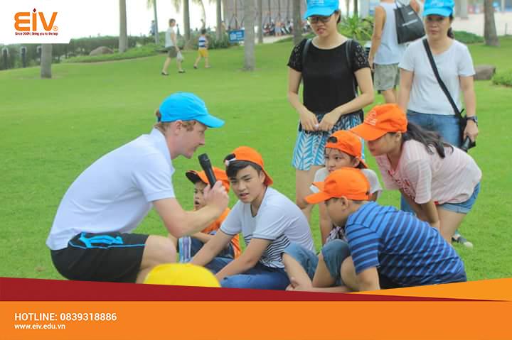 Sôi động team building tại trường chất lượng cao Skyline – Đà Nẵng
