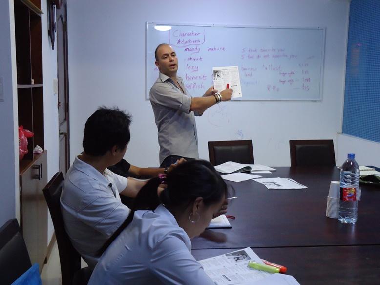 giáo viên dạy kèm tiếng Anh