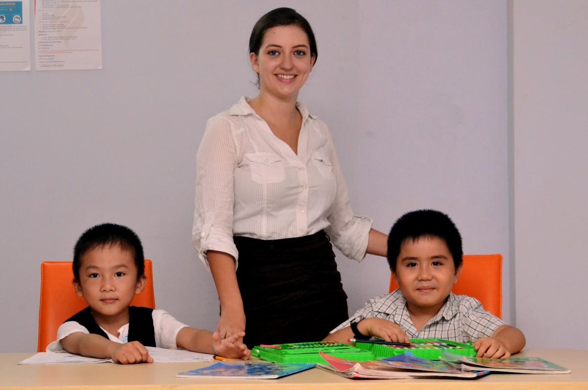giáo viên tiếng Anh bản ngữ