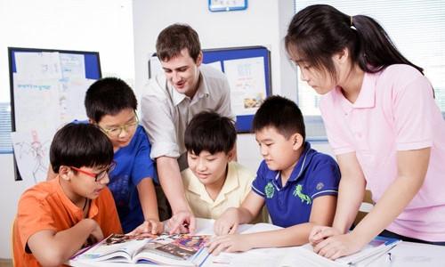 giáo viên nước ngoài dạy tiếng anh