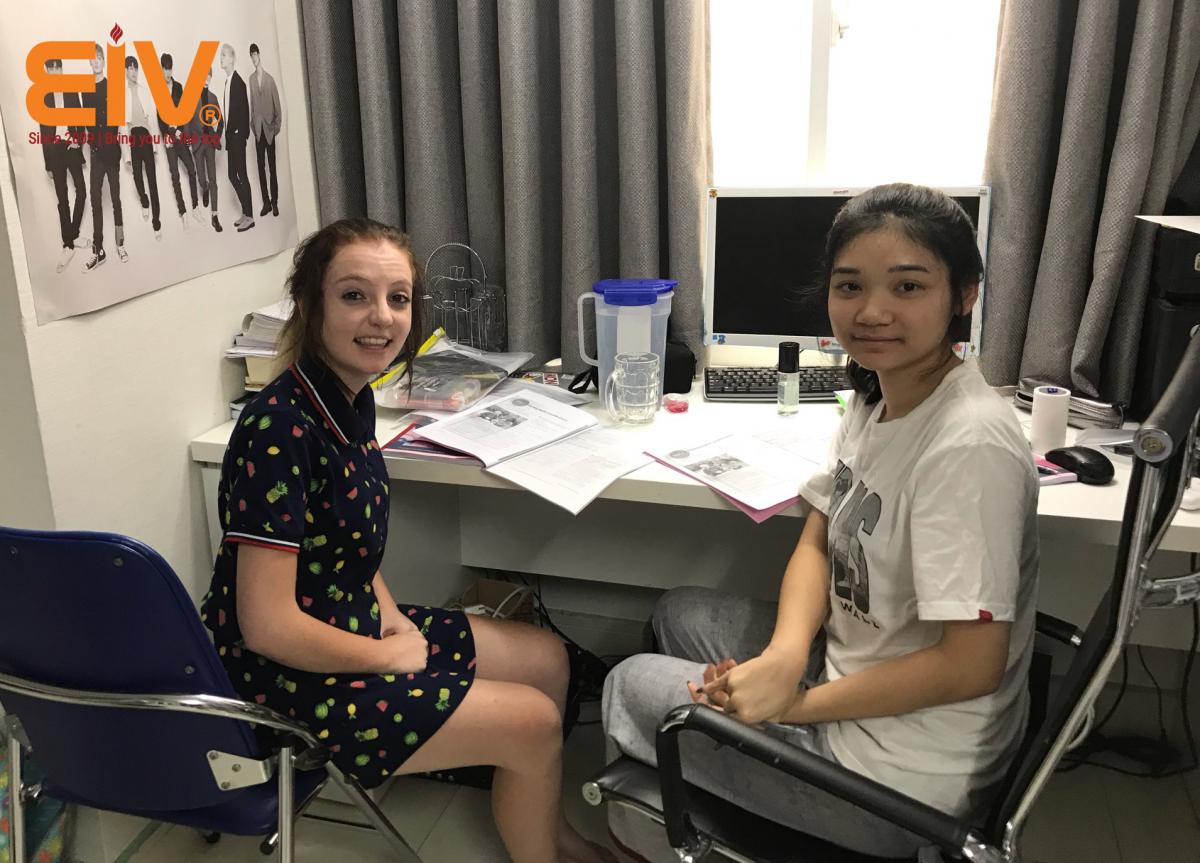 Học Tiếng Anh du học cùng giáo viên bản ngữ
