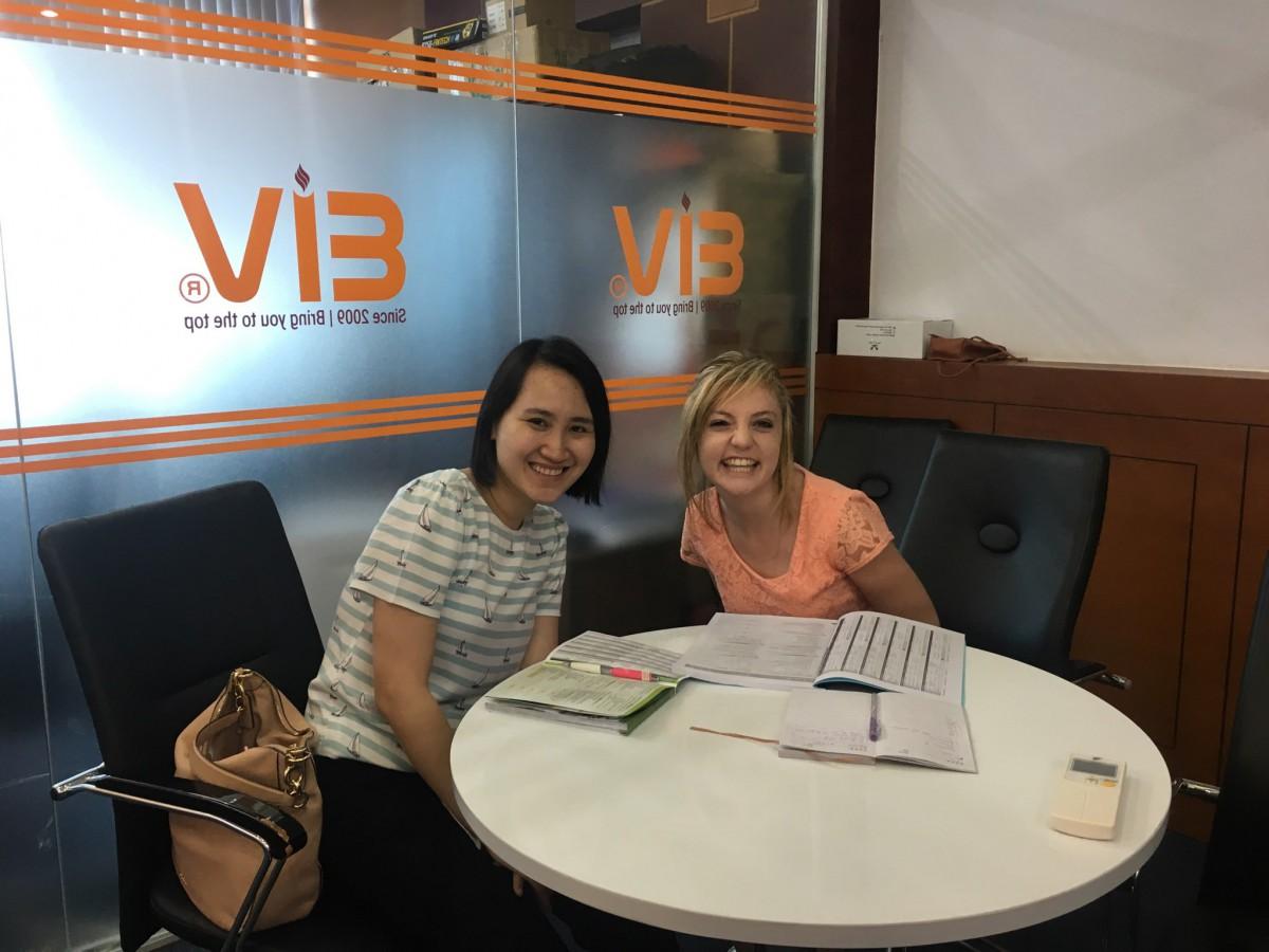 Học Tiếng Anh định cư nước ngoài cùng giáo viên bản ngữ