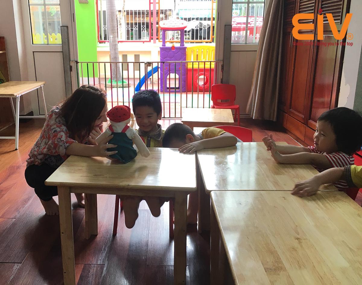 Cung cấp giáo viên bản ngữ cho trường mầm non tại Hà Nội
