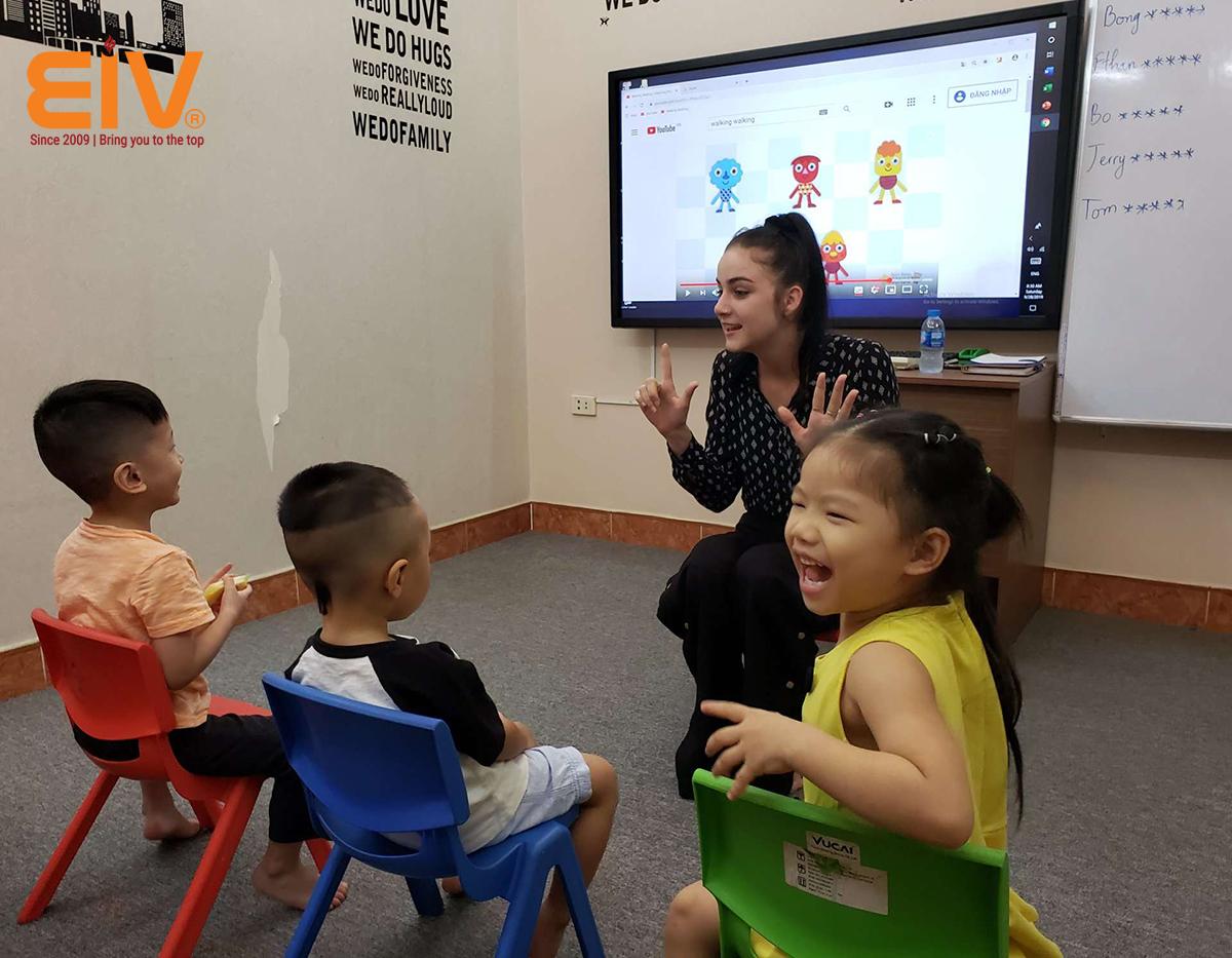 Lộ trình đào tạo tiếng Anh trẻ em trở thành công dân toàn cầu