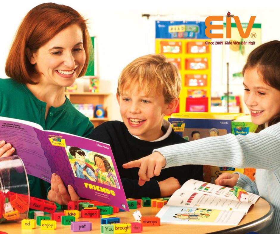 Tiếng Anh dành riêng cho trẻ em lớp 3