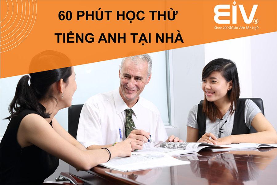 60 phút học Tiếng Anh miễn phí cùng giáo viên bản ngữ dành cho người Hà Nội