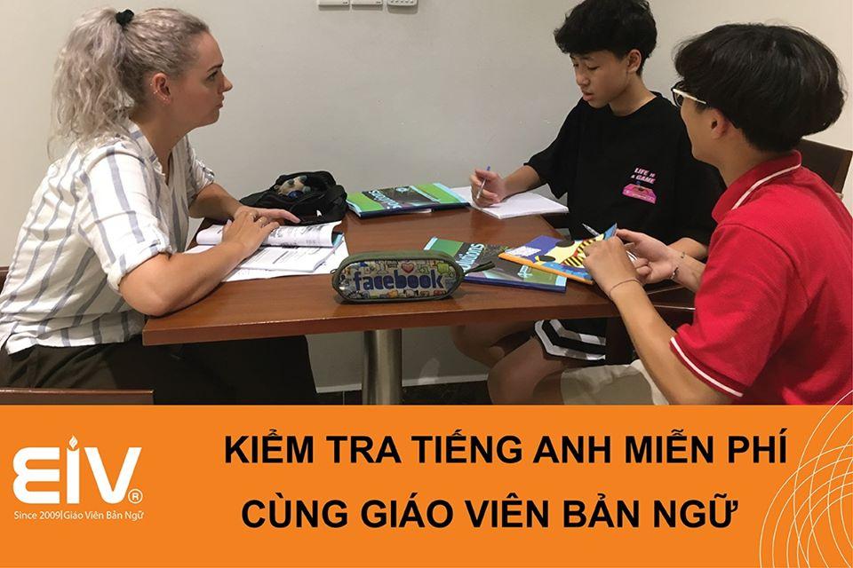 Kiểm tra năng lực Tiếng Anh miễn phí cùng giáo viên bản ngữ
