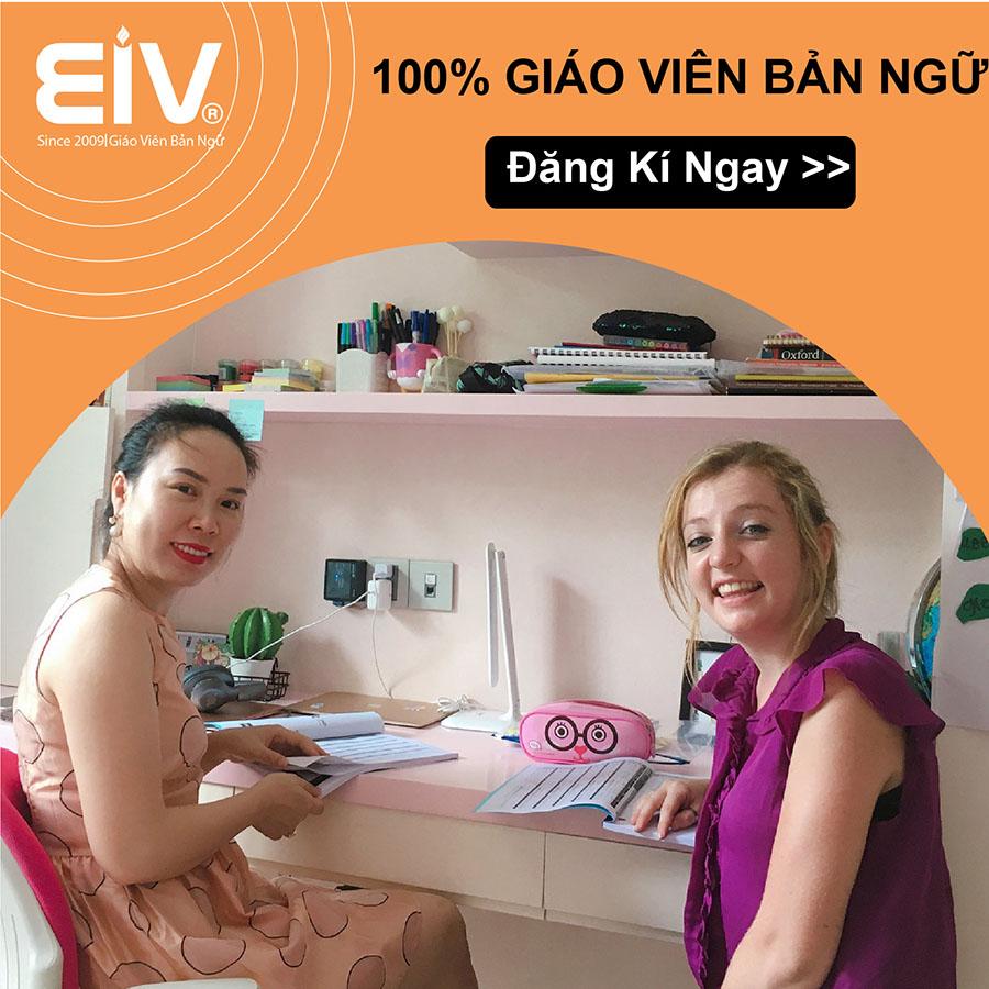 Học Tiếng Anh đầu năm – Nhận Lì Xì tiền mặt lên đến 4 triệu đồng tại EIV Education