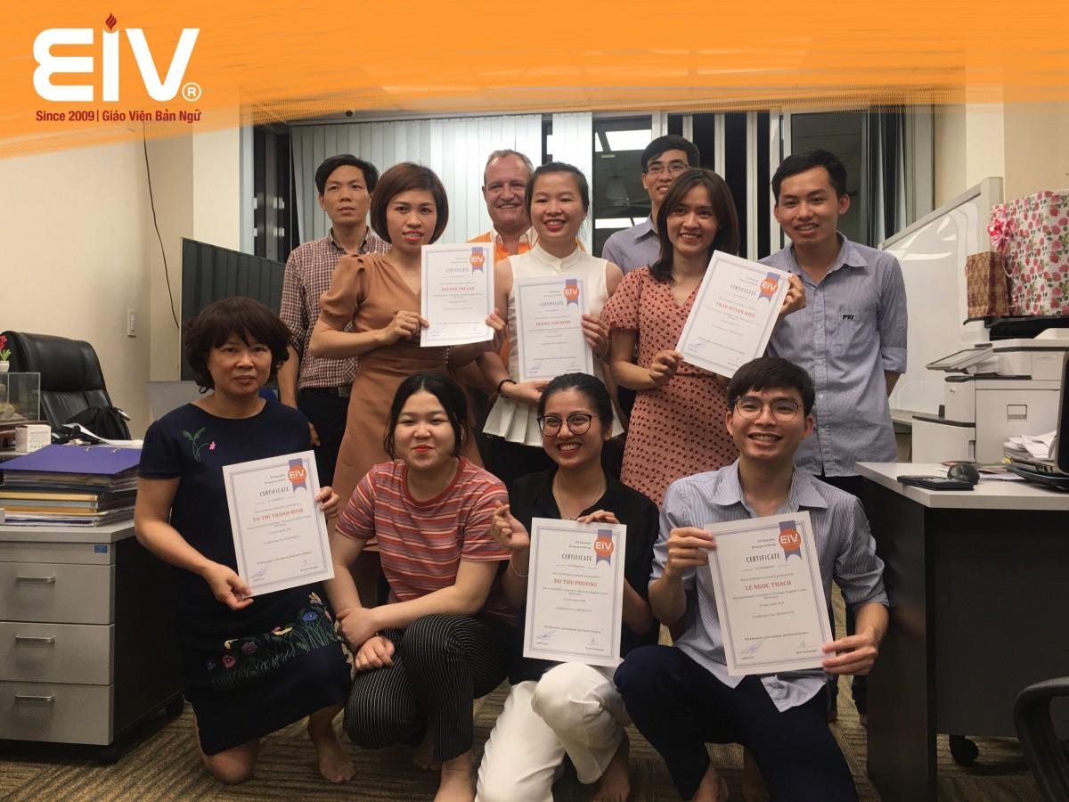 EIV Education x PEICO: Đào tạo Tiếng Anh chuyên nghành Điện – Cơ