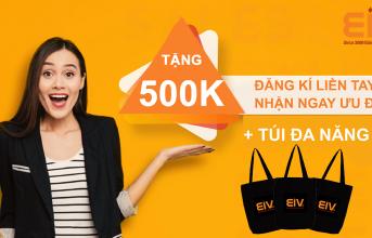 (Tiếng Việt) THÁNG YÊU THƯƠNG – NHẬN PHẦN QUÀ TRỊ GIÁ 500.000 VNĐ TẠI EIV EDUCATION