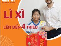 (Tiếng Việt) Học Tiếng Anh đầu năm – Nhận Lì Xì tiền mặt lên đến 4 triệu đồng tại EIV Education