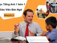 Lộ trình tiếng Anh trẻ em hoàn hảo cho con