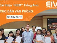 Học Tiếng Anh văn phòng cùng giáo viên bản ngữ