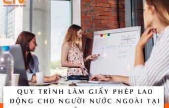 Quy trình làm giấy phép lao động cho giáo viên bản ngữ tại Việt Nam
