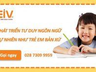 Nên cho trẻ học tiếng Anh từ mấy tuổi?