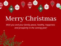 (Tiếng Việt) Những cách chúc mừng Giáng sinh trong tiếng Anh