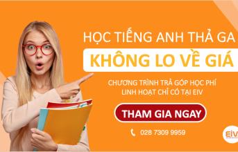 (Tiếng Việt) CHƯƠNG TRÌNH HỌC TIẾNG ANH TRẢ GÓP LÃI SUẤT 0%