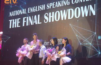 """EIV Education Hà Nội tài trợ cuộc thi """"National English Speaking Contest (NESC)"""" diễn ra ngày 02.11.2020"""