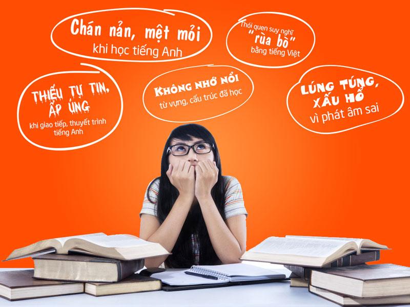 Những sai lầm khi bạn học tiếng anh